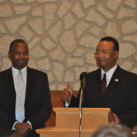 Dr. Ben Carson speaks at Shiloh church