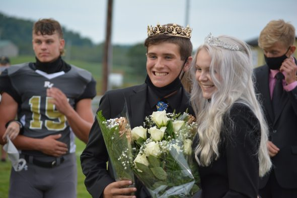 RVHS crowns homecoming king and queen