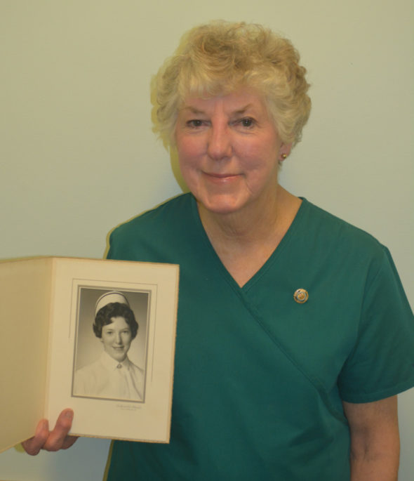 National Nurses Week is May 6-12 and for many the profession isn't just a career, it's a passion. Elaine Farie, who works for Interim HealthCare, discovered her love of nursing at the age of 7 and has now been a nurse for 54 years. Josie Sellers | Beacon