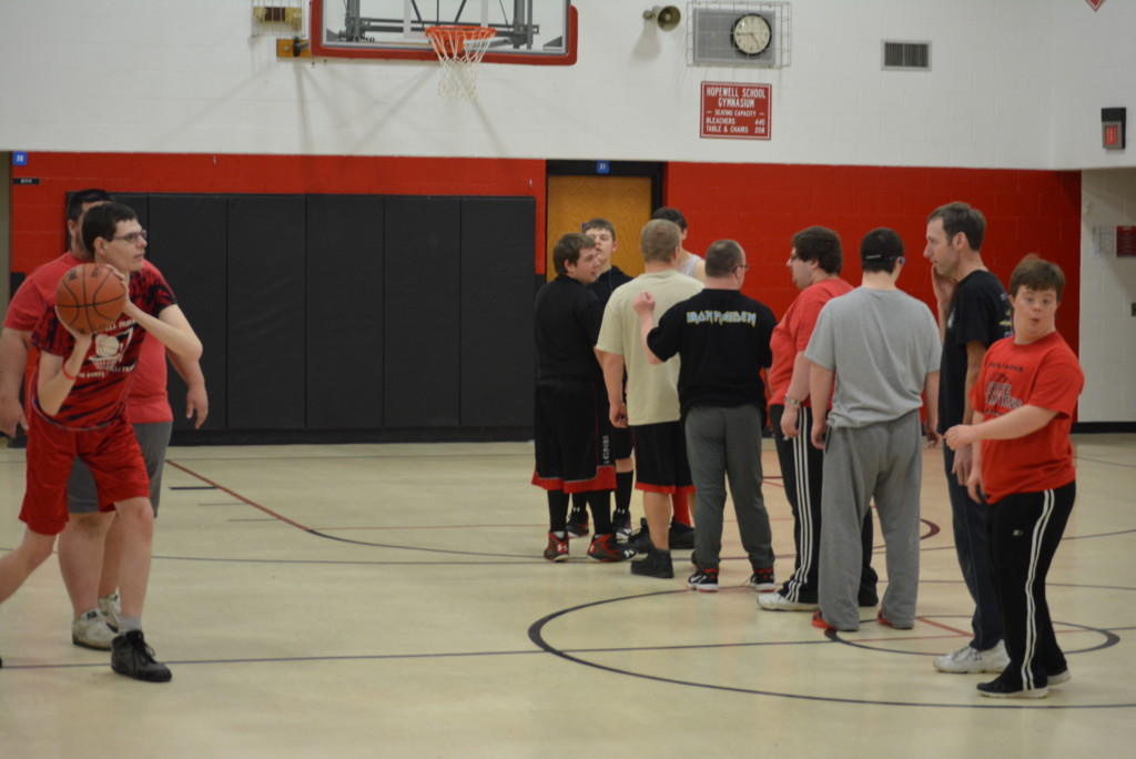 Hopewell Indians Practice09