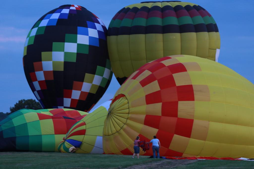 Hot Air Balloon Night Glow03