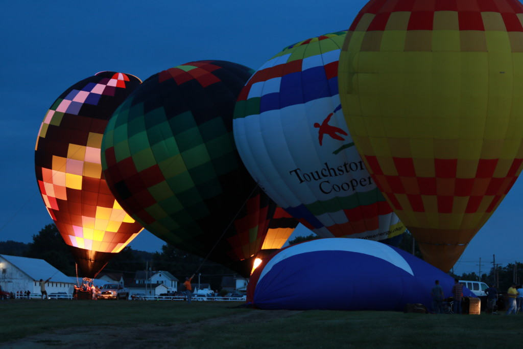 Hot Air Balloon Night Glow07