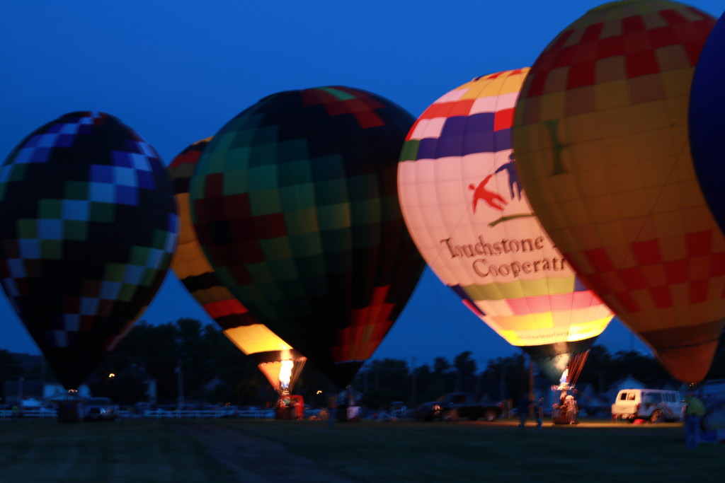 Hot Air Balloon Night Glow10