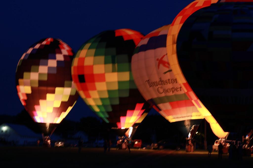 Hot Air Balloon Night Glow12