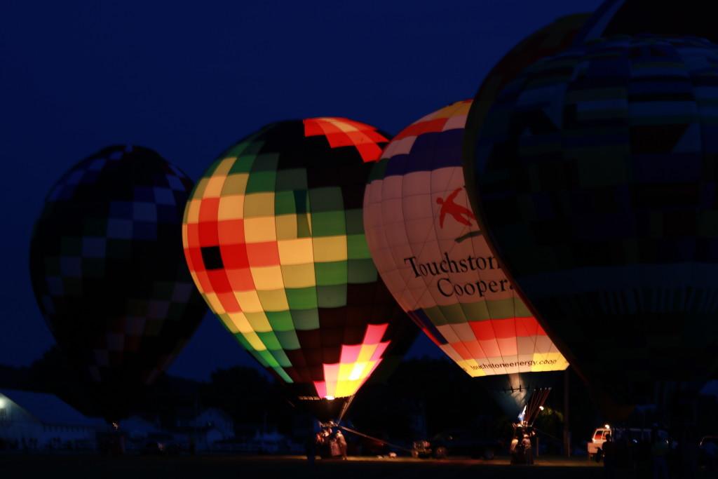Hot Air Balloon Night Glow13