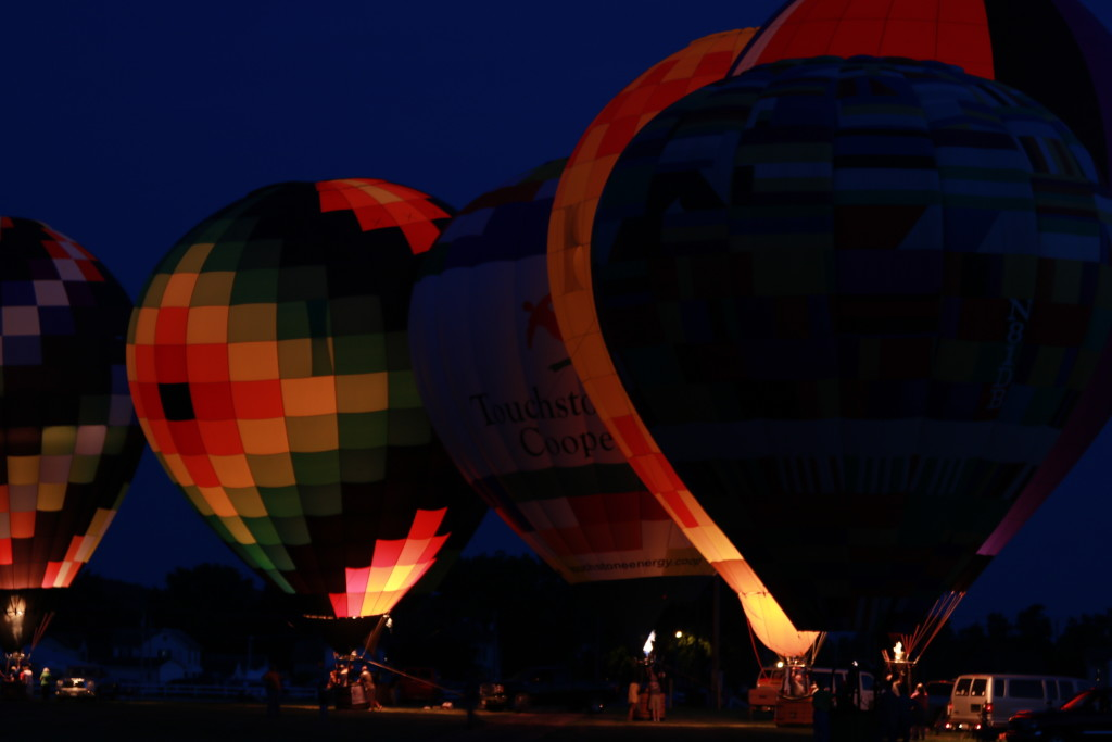 Hot Air Balloon Night Glow16