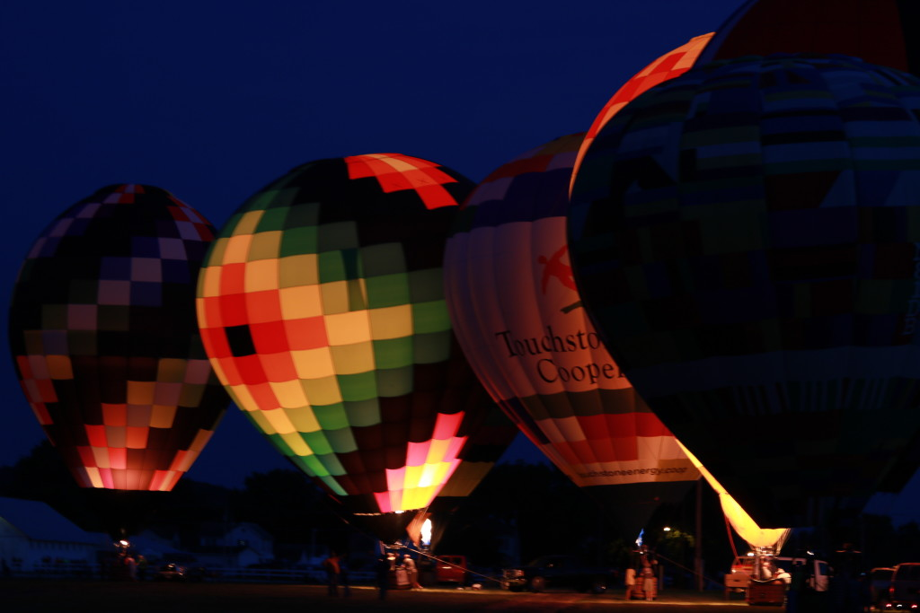 Hot Air Balloon Night Glow18