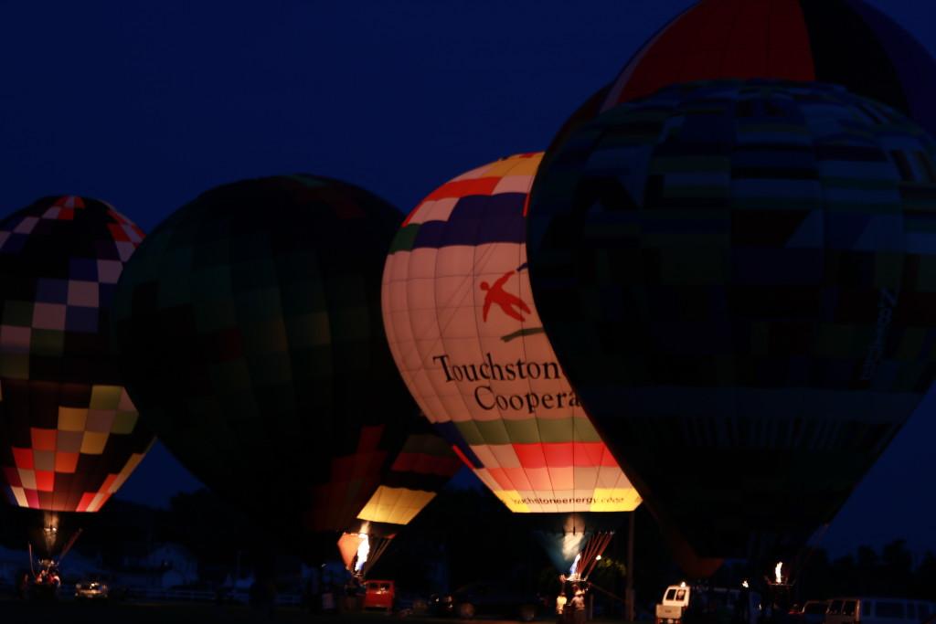 Hot Air Balloon Night Glow19