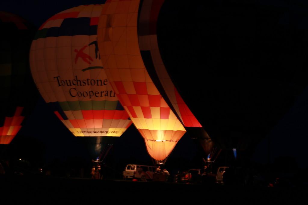 Hot Air Balloon Night Glow20