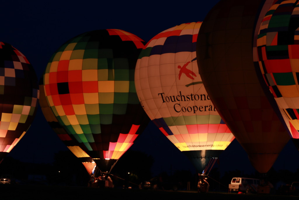 Hot Air Balloon Night Glow21