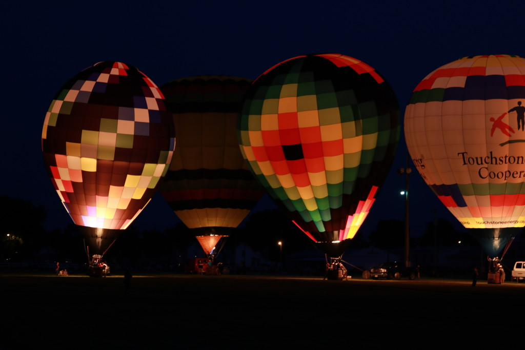 Hot Air Balloon Night Glow22