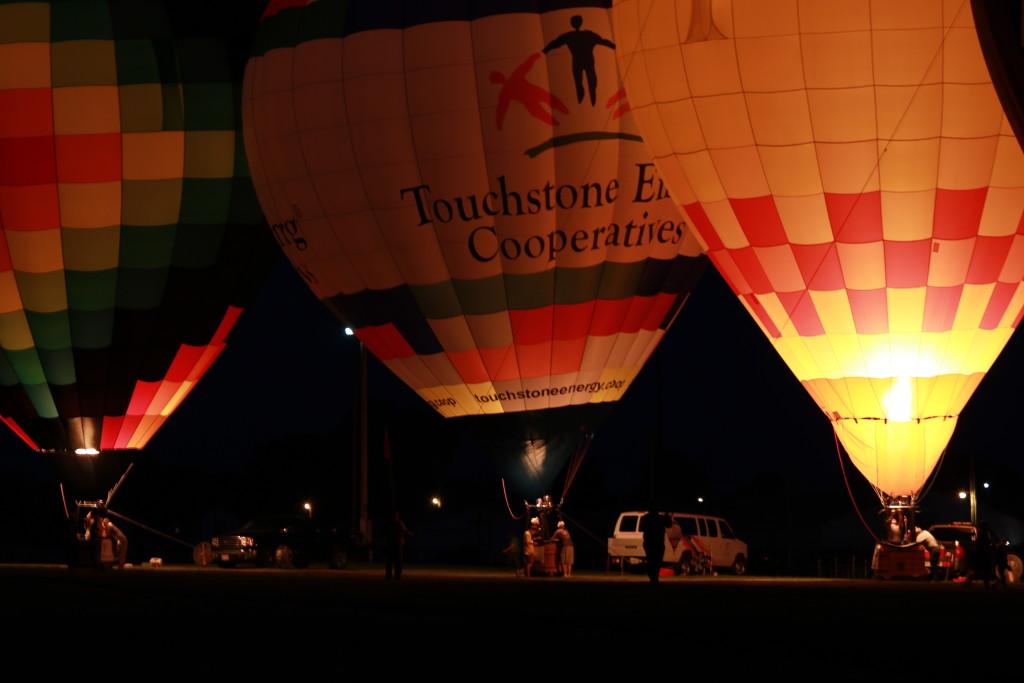 Hot Air Balloon Night Glow25