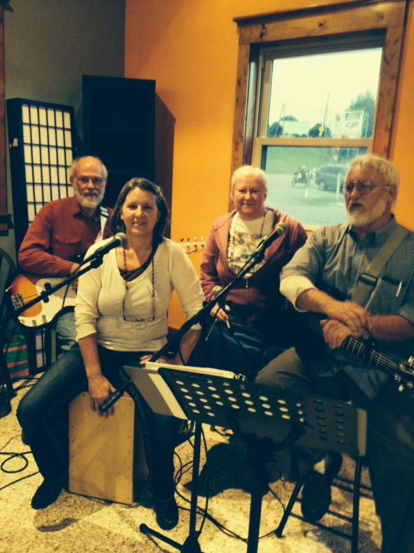 Servant's Heart will be performing at the June 27 Celebration in the Country at Renner St. Paul's. The quartet features Sanford Hartman (L), Jan Hochstetler, Wilma Mullet, and Floyd Mullet.
