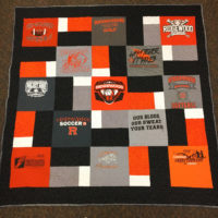 Math students create Ridgewood quilt for raffle