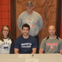 Michael signs with Marietta