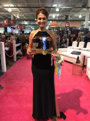 Kaitlyn Salmans won the Miss Congeniality title at the Quarter Horse Congress in Columbus. Contributed | Beacon