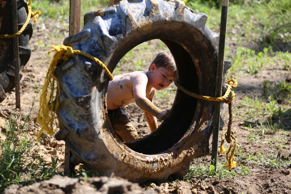 Mud Run Kids Course45