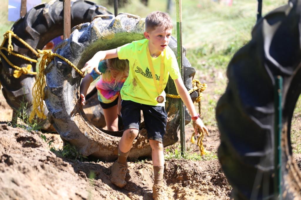 Mud Run Kids Course52
