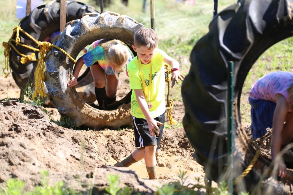 Mud Run Kids Course53
