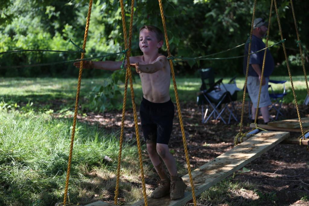 Mud Run Kids Course55
