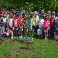 Tree planted to honor former canal boat employee