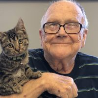 Altercare adds therapy cat to staff
