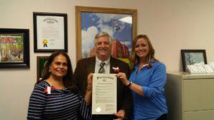 Poppy Month - Mayor & American Legion Auxiliary