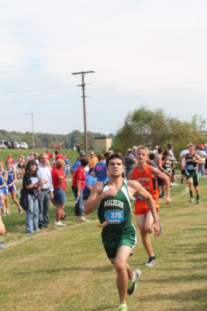 Ridgewood's Fred Doberstein  ran his personal best time at the Meadowbrook meet.