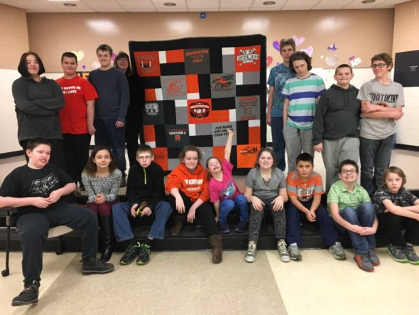 RMS quilt
