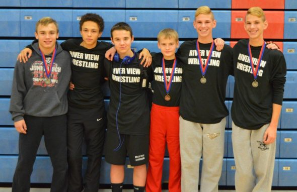 RV junior high wrestlers
