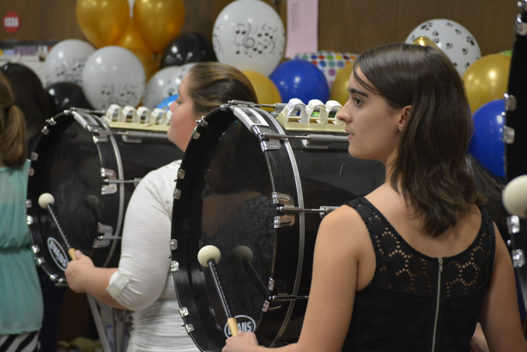 RVHS marching band balloon day33