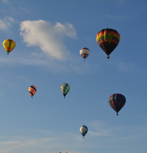 Hot air balloons dot the sky every June in Coshocton as part of the annual Coshocton Hot Air Balloon Festival. This year's festival will be held from 4 to 10 p.m. Thursday, June 9 and from 11 a.m. to 10 p.m. Friday and Saturday, June 10-11, at the Coshocton County Fairgrounds.