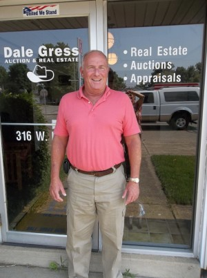 Anniversary: Terry Longsworth is the owner of Dale Gress Auction & Real Estate, which is celebrating its 50th anniversary. The business is located at 316 W. Main St. in West Lafayette and can be reached at 750-545-7158. Beacon photo by Nina Drinko