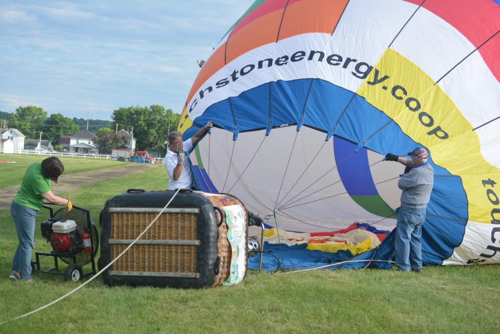 Tethered balloon rides11