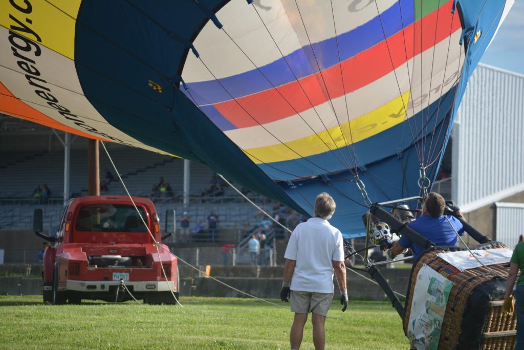 Tethered balloon rides23