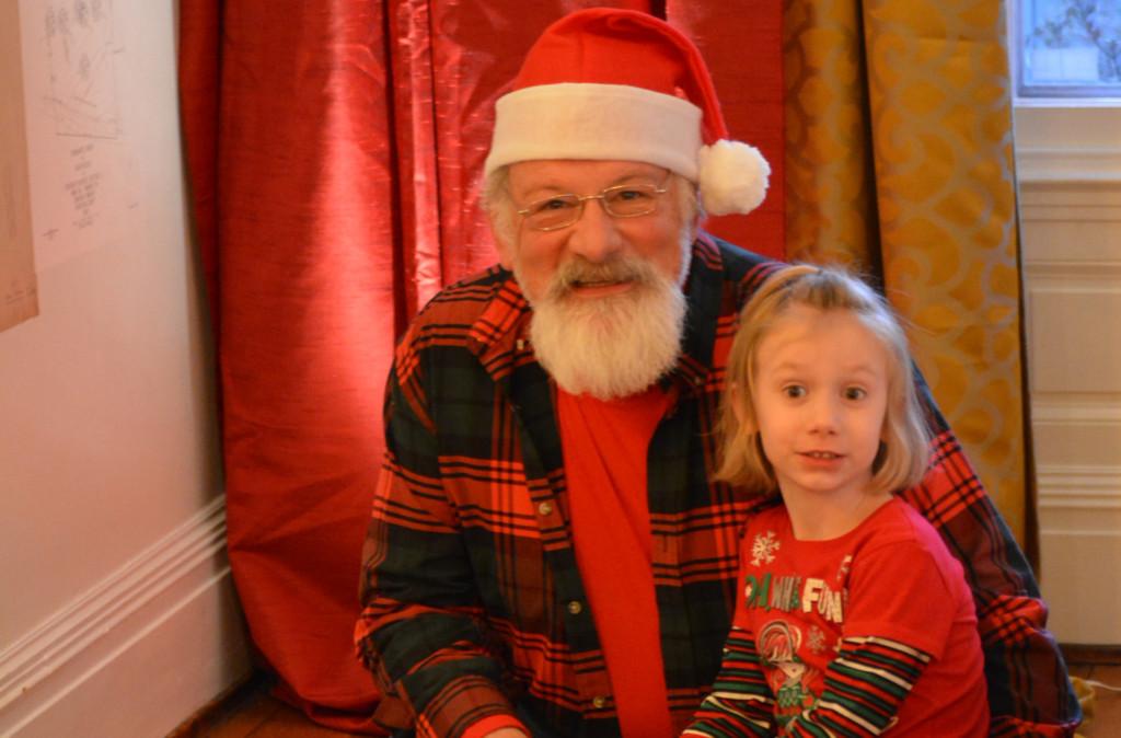 Trying on Santa11