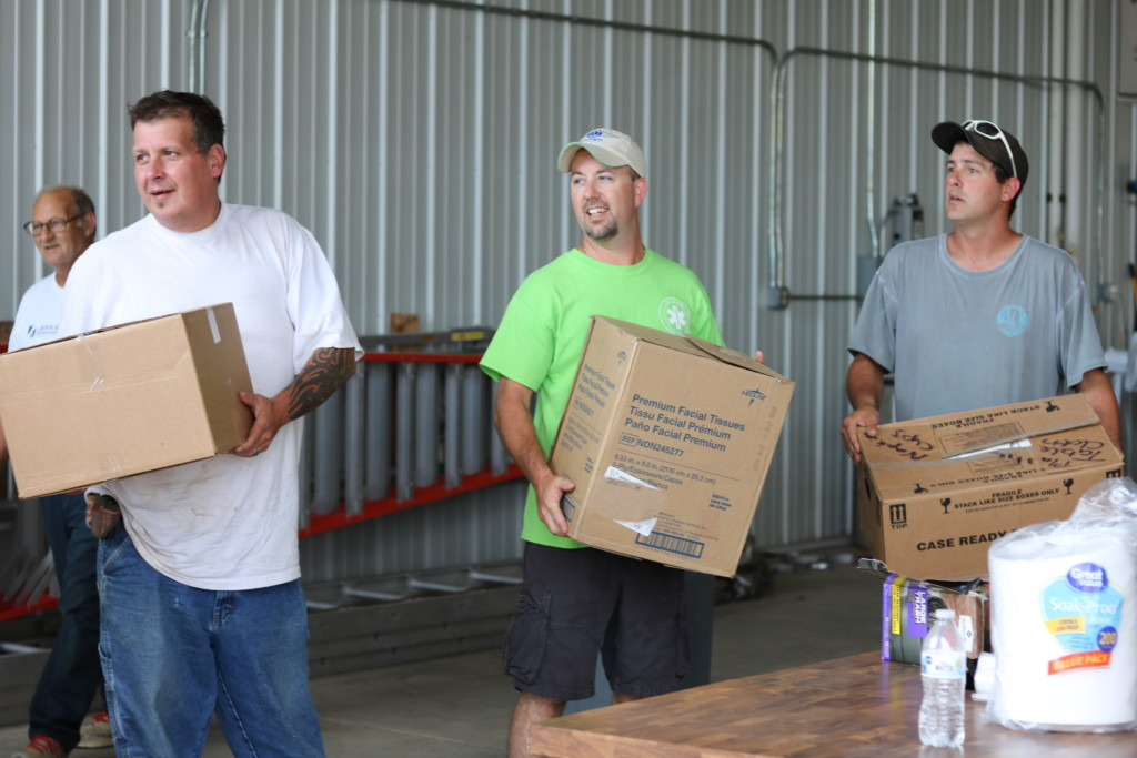 W.Va. donation volunteers08
