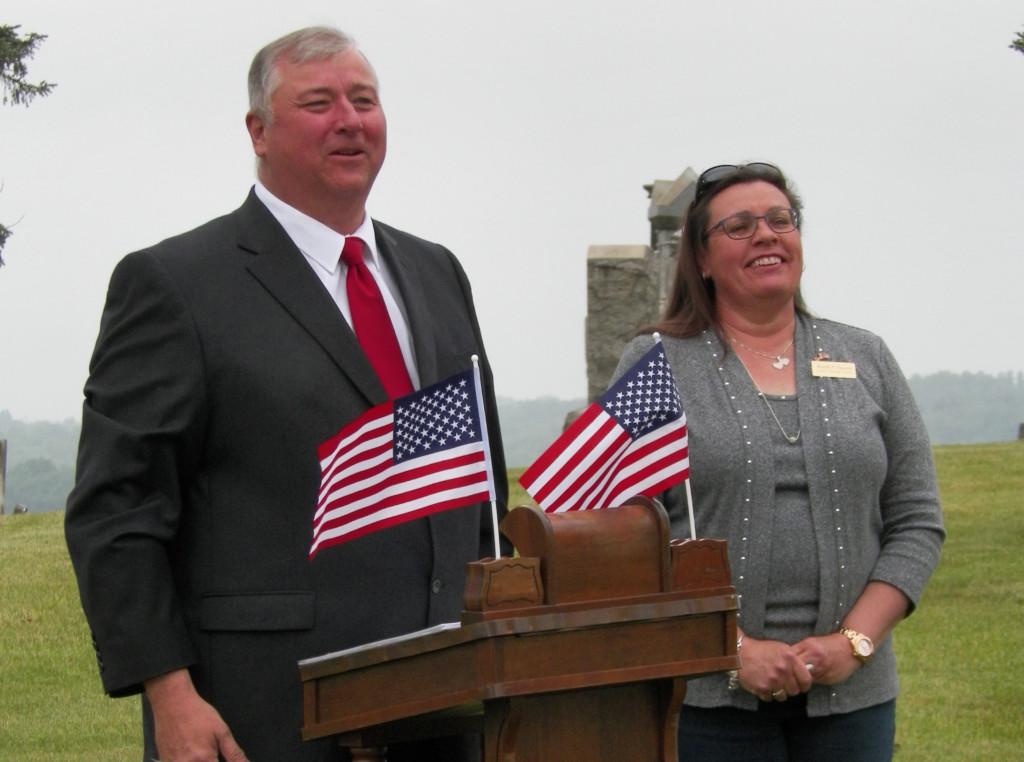 Waggoner Cemetery Memorial Service 04