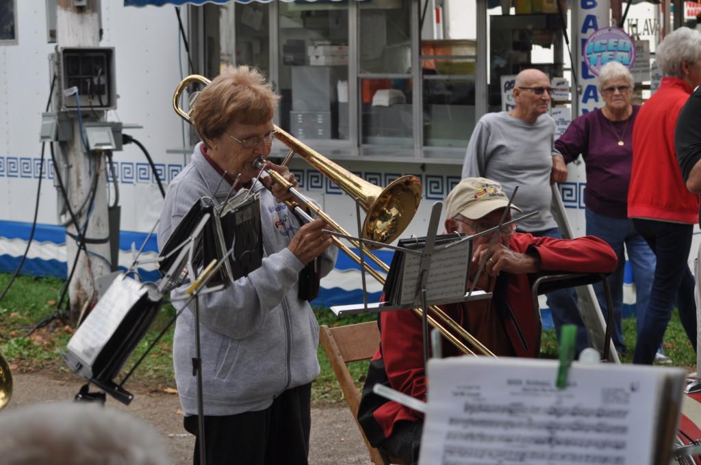 Walhonding Rube Band at the Fair06