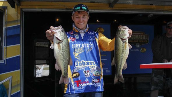 Coshocton High School graduated Tanner Ward recently qualified to fish in the National Bassmaster College Series Tournament. Contributed | Beacon