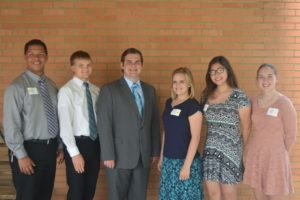 The Warsaw Alumni Association handed out $7,000 in scholarships this year. Scholarship recipients who were able to attend the alumni banquet this year included: Jadyn Cline, Andrew Lonsinger, Michael Belt, Rylee Welch, Kirsten Titus and Taylor Massie. Josie Sellers | Beacon
