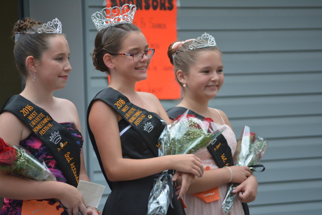 West Lafayette Homecoming Queen Contest98