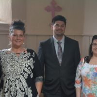 Models showcase local fashion at Administrative Professional Day