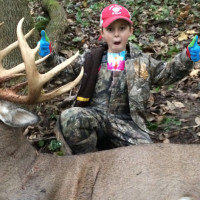 7-year-old nails 10-point buck