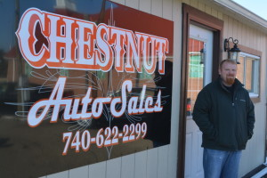 Business move: Mike Guinther moved his Chestnut Auto Sales business to 725 S. Second St. Beacon photo by Josie Sellers