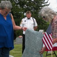 Dedication ceremony held for Civil War Veteran