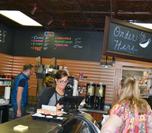 New shop: Hannah Marie's, a specialty bakery and coffee shop, recently opened at 139 S. Third St. The owner Hannah Ianniello also is known for her uniquely decorated cakes. Beacon photo by Josie Sellers