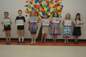 Winners of the Coshocton County Board of Developmental Disabilities coloring contest are pictured from left: Runner up – Jaelyn McQueen, second grade Ridgewood Elementary; first place – Nathan Adams, third grade Keene Elementary; runner up – Sydney Hennis, third grade Union Elementary; second place – Lydia Loos, third grade Coshocton Christian School; runner up – Sophia Monnier, second grade Warsaw Elementary; runner up – Piper Miller, first grade Conesville Elementary; third place – Lamvi Harmon, first grade Sacred Heart School. Not pictured is runner up Casie King, kindergarten Conesville Elementary. Josie Sellers | Beacon