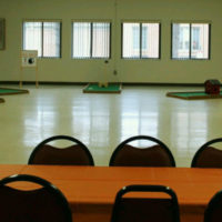 Community center adds putt-putt golf