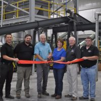 Ribbon cutting held at Coshocton Soy Processing